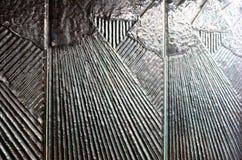 Painel de exposição Textured vidro Imagem de Stock
