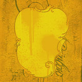 Painel de Grunge Ilustração Royalty Free
