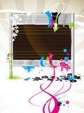 Painel de indicador em branco, billboa Imagens de Stock Royalty Free