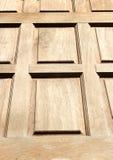 Painel de madeira da porta Imagens de Stock Royalty Free