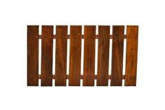 Painel de madeira isolado Imagens de Stock