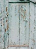 Painel de madeira verde fotografia de stock