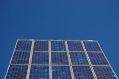 Painel de potência solar Fotos de Stock