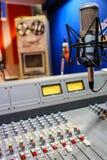 Painel de rádio do misturador Imagem de Stock Royalty Free