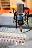 Painel de rádio do misturador Foto de Stock Royalty Free