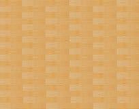 Painel de tiras de madeira entrelaçadas dobradas do teste padrão da cor da areia Imagem de Stock Royalty Free