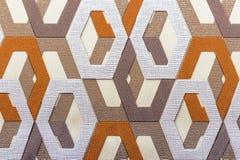Painel decorativo com teste padrão geométrico fundo 3d fotografia de stock royalty free