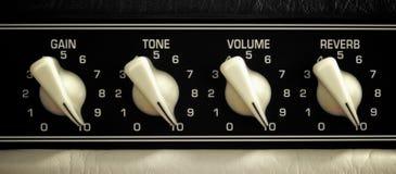 Painel do amplificador imagem de stock