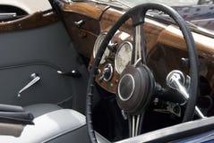 Painel do carro antigo Imagem de Stock