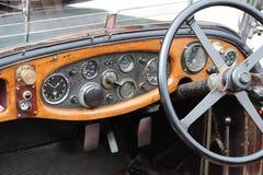 Painel do carro clássico Imagens de Stock