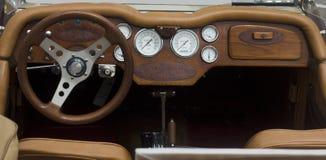 Painel do carro do vintage Fotografia de Stock Royalty Free
