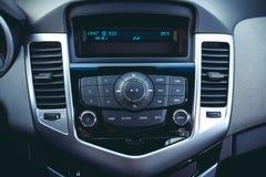 Painel do carro Projeto interior moderno foto de stock