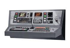 Painel do equipamento de comunicações Foto de Stock Royalty Free