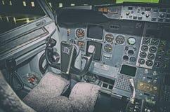 Painel dos aviões Foto de Stock