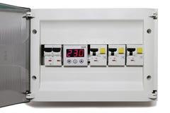 Painel elétrico Imagem de Stock
