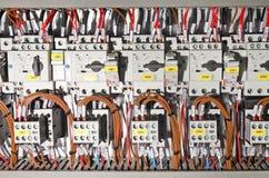 Painel elétrico Fotografia de Stock Royalty Free