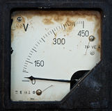 Painel elétrico velho fotografia de stock royalty free