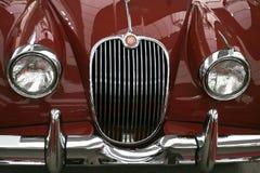 Painel frontal velho do carro imagens de stock