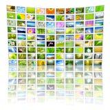 Painel grande da tevê Fotos de Stock