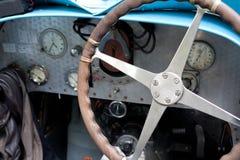 Painel instrumental do carro velho Foto de Stock