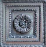 Painel ornamentado da porta do bronze do vintage Foto de Stock Royalty Free
