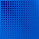 Painel perfurado azul ilustra??o 3D ilustração stock