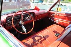Painel retro vermelho do vintage Foto de Stock