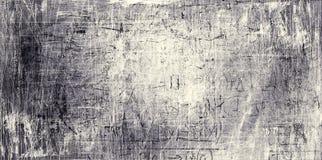 Painel riscado sumário do metal Imagem de Stock