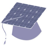 Painel solar ilustração stock