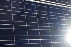 Painel solar Imagem de Stock