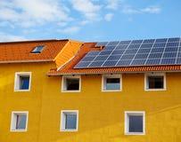 Painel solar Imagem de Stock Royalty Free