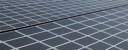 Painel solar - detalhe Imagens de Stock