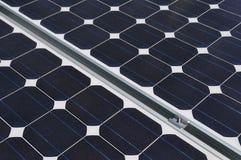 Painel solar e fixações de junta da braçadeira Imagens de Stock