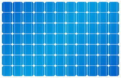 Painel solar, energias solares, célula solar Fotografia de Stock Royalty Free