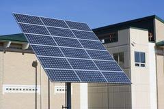 Painel solar grande Imagens de Stock