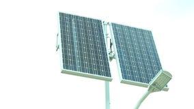 Painel solar HD completo com slider motorizado 1080p filme