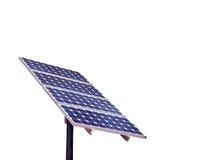 Painel solar isolado Imagem de Stock Royalty Free