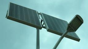 Painel solar - metragem conservada em estoque HD completo com slider motorizado 1080p video estoque