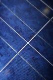 Painel solar moderno Fotos de Stock