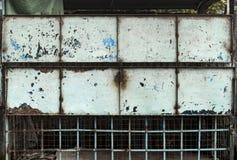 Painel sujo do metal Imagem de Stock