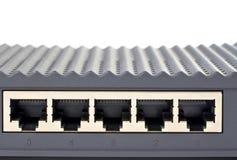 Painel traseiro do router Foto de Stock Royalty Free