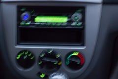 Painel unfocused obscuro do carro Imagem de Stock