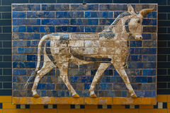 Painel vitrificado do tijolo Imagens de Stock