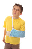 Painful accident injury royalty free stock images