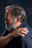 Painful Shoulder Royalty Free Stock Photos