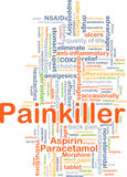 Painkiller background concept Royalty Free Stock Images