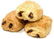 Pains au chocolat Stock Photos