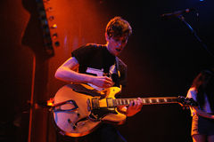 The Pains of Being Pure at Heart (band) performs at Apolo Stock Photos