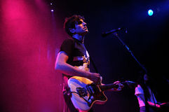 The Pains of Being Pure at Heart (band) performs at Apolo Royalty Free Stock Image