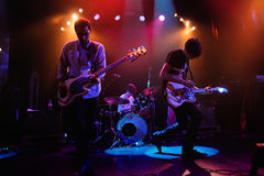 The Pains of Being Pure at Heart band performs at Apolo Royalty Free Stock Photography